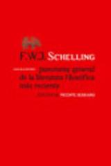 Panorama general de la literatura filosófica más reciente - Friedrich W. J. Schelling - Abada Editores