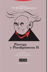 Parerga y Paralipómena II - Arthur Schopenhauer - Trotta