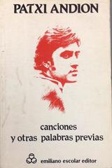 Canciones y otras palabras previas -  AA.VV. - Otras editoriales