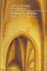 Pensar la Biblia - André la Cocque - Herder