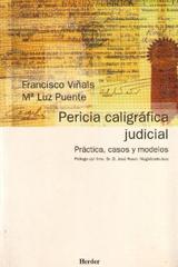 Pericia caligráfica judicial - Francisco Viñals - Herder
