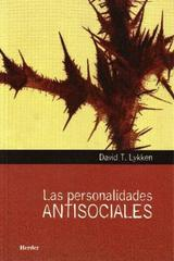 Las Personalidades antisociales - David T. Lykken - Herder