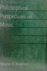 Philosophical perspectives on music -  AA.VV. - Otras editoriales