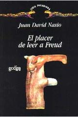 El placer de leer a Freud - Juan  David Nasio - Editorial Gedisa