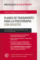 Planes de tratamiento para la psicoterapia con adultos -  AA.VV. - Eleftheria