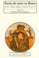 Poesía de amor en Roma -  AA.VV. - Akal