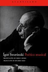 Poética musical - Ígor Stravinski - Acantilado