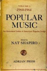 Popular music  - Nat Shapiro (Editor) -  AA.VV. - Otras editoriales