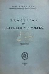 Prácticas de entonación y solfeo - Guillermo Orta Velázquez -  AA.VV. - Otras editoriales