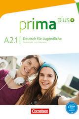 Prima Plus A2.1 Curso, Deutsch für Jugendliche -  AA.VV. - Cornelsen