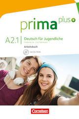 Prima Plus A2.1 Ejercicios, Deutsch für Jugendliche -  AA.VV. - Cornelsen