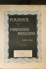 2a. Rapsodia mexicana  para piano solo -  AA.VV. - Otras editoriales