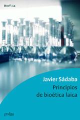 Principios de bioética laica - Javier Sádaba - Editorial Gedisa