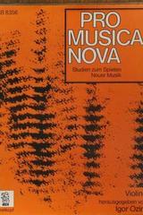 Pro Musica Nova (violin) -  AA.VV. - Otras editoriales