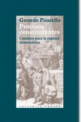 Procesos constituyentes - Gerardo Pisarello - Trotta