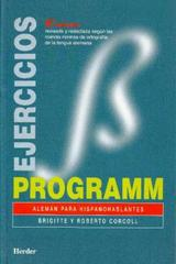 Programm Ejercicios -  AA.VV. - Herder
