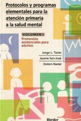 Protocolos y programas elementales Tomo I - Jorge L. Tizón - Herder
