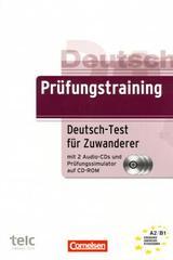 Prüfungstraining, Deutsch-Test für Zuwanderer mit CD/CD-ROM A2/B1 -  AA.VV. - Cornelsen