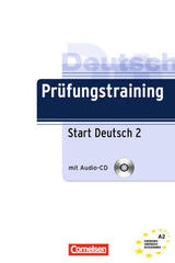 Prüfungstraining Start Deutsch 2 A2 -  AA.VV. - Cornelsen