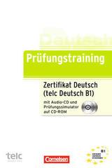 Prüfungstraining telc Deutsch B1+ Prüfungssimulator -  AA.VV. - Cornelsen