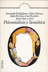 Psicoanálisis y semiótica - Armando Verdiglione - Editorial Gedisa