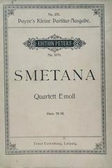 Quartett E moll  - Smetana -  AA.VV. - Otras editoriales