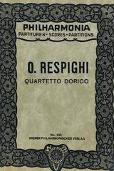 Quartetto dorico - Ottorino Respighi -  AA.VV. - Otras editoriales