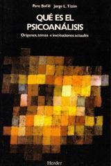 Qué es el psicoanálisis - Pere Bofill - Herder