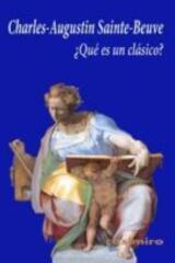 ¿Qué es un clásico? - Charles-Agustine Sainte-Beuve - Casimiro