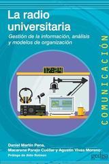 La radio universitaria -  AA.VV. - Editorial Gedisa