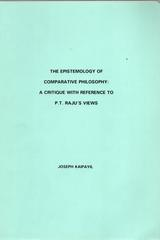 The Epistemology of Comparative Philosophy - Joseph Kaipayil - Otras editoriales