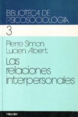 Las Relaciones interpersonales 3 - Pierre Simon - Herder