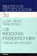 Las Relaciones interpersonales 3a - Lucien Albert - Herder