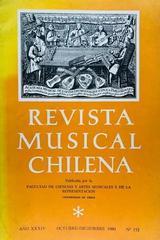 Revista musical chilena -  AA.VV. - Otras editoriales
