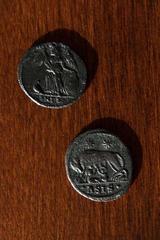 Roma y Constantinopla -  Anónimo - Monedas