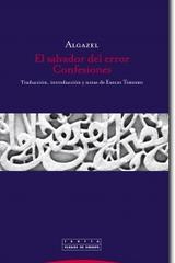 El salvador del error -  Algazel - Trotta