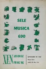 Sele música 116 (septiembre) -  AA.VV. - Otras editoriales