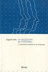 La Selección de personal - Augusto Vels - Herder