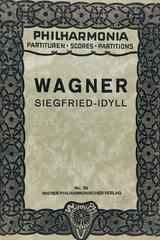 Siegfried idyll - Richard Wagner -  AA.VV. - Otras editoriales