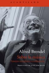 Sobre la música - Alfred Brendel - Acantilado