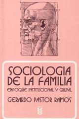 Sociología de la familia - Gerardo Pastor - Ediciones Sígueme