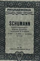 Streichquartett A moll - Schumann -  AA.VV. - Otras editoriales