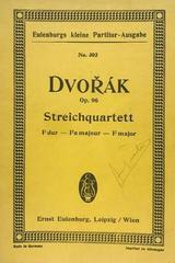 Streichquartett F dur, op. 96 - Dvorak -  AA.VV. - Otras editoriales