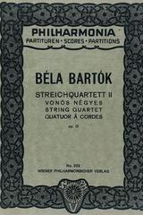 Streichquartett II op. 17 - Bela Bartok -  AA.VV. - Otras editoriales