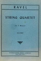 String quartet in F major - Ravel -  AA.VV. - Otras editoriales