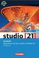 Studio 21 A2 Testheft mit Audio-CD -  AA.VV. - Cornelsen