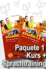 Studio d A1 Paquete 1 - Curso y Ejercicio -  AA.VV. - Cornelsen