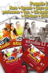 Studio d A1 Paquete 3 - Con todos los complementos. -  AA.VV. - Cornelsen
