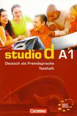 Studio d A1 - Testheft -  AA.VV. - Cornelsen