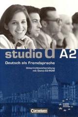 Studio d A2 - Profesores -  AA.VV. - Cornelsen